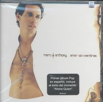 AMAR SIN MENTIRAS BY ANTHONY,MARC (CD)