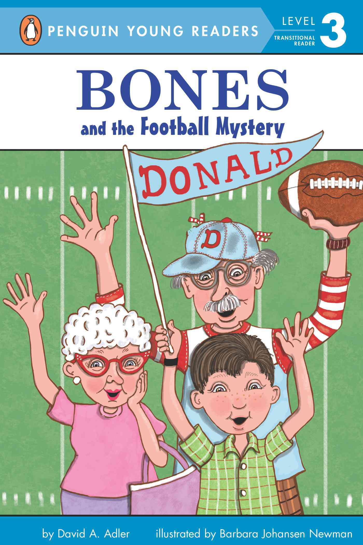 Bones and the Football Mystery By Adler, David A.