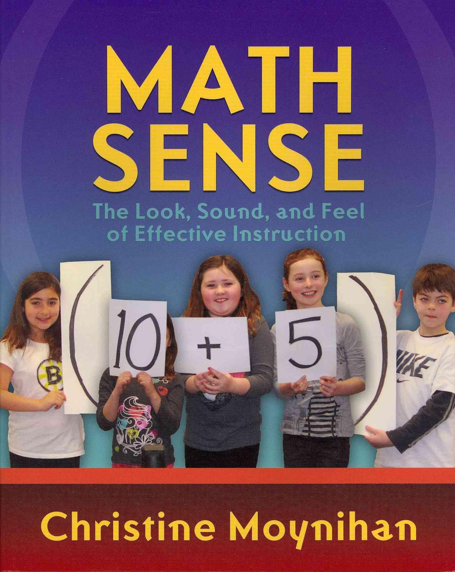 Math Sense By Christine Moynihan